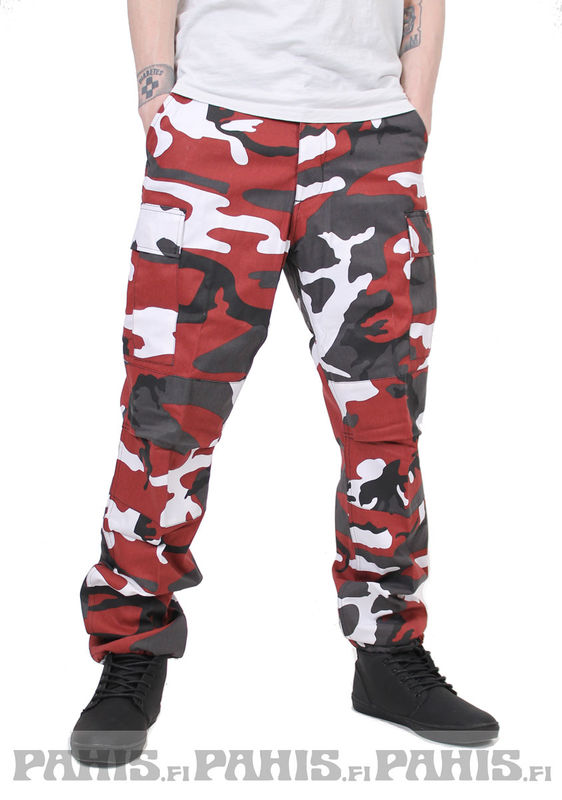 Rothco Color Camo - Cargo Pants, red camo
